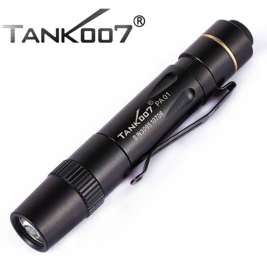 TANK007 PA01 90 Lumens 3Modes ORSAM LED Mini Pocket Clip Flashlight Medical Light Torch Penlight Free Shipping free shipping tank007 e10 cree r3 flashlight led pocket clip medical light torch penlight aaa flashlight penlight medical