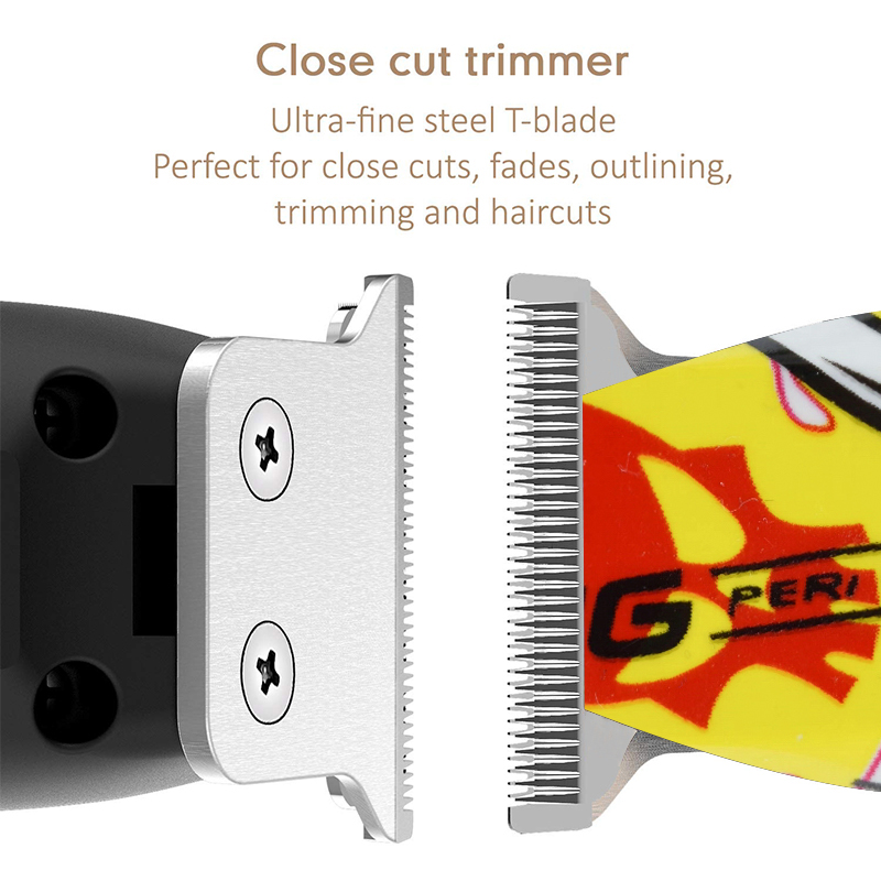 Professional Hair Clippers for men trimmer USB Rechargeable Electric Hair cutting men 39 s cordless haircut barber machine cutter in Hair Trimmers from Home Appliances