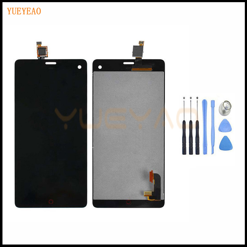 YUEYAO LCD Screen For ZTE Nubia Z7 Mini NX507J LCD Screen Display+Touch Digitizer Black Free ShippingYUEYAO LCD Screen For ZTE Nubia Z7 Mini NX507J LCD Screen Display+Touch Digitizer Black Free Shipping
