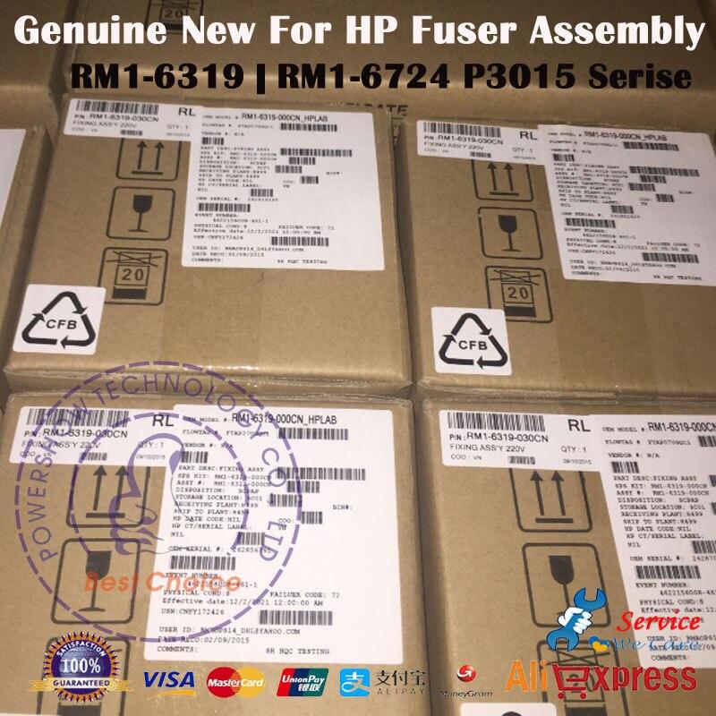 bilder für Original Neue Fixierbaugruppe Fixiereinheit Kit RM1-6319 RM1-6319-000 RM1-6724 RM1-6724-000CN Für HP P3015 + 3015 Serie