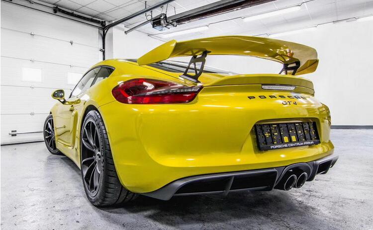 Стержни из углеродного волокна и аксессуар для багажника автомобиля заднее крыло багажника спойлер для Porsche Cayman 981 986 987 718 GT4 GT 2016 2017 2018 2019 по