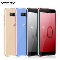 XGODY S10 3G Dual Sim Smartphone Android 8.1 5.5 Inch 18:9 Mobile Phone 2GB RAM 16GB ROM MTK6580 Quad Core 5MP 2500mAh Cellphone