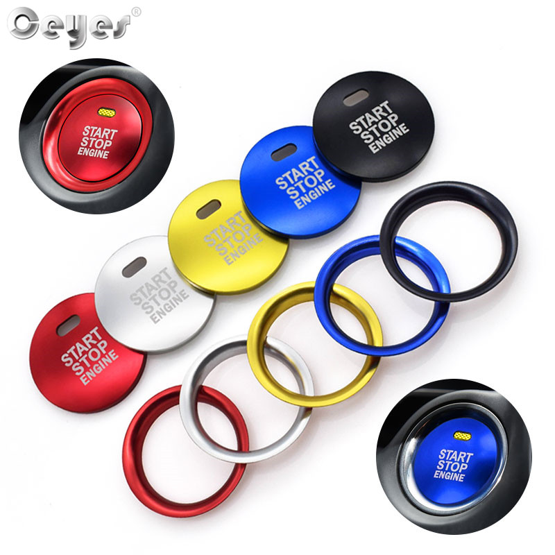 Ceyes Car Styling Engine Auto Start Stop Cover Sticker Case For Mazda CX3 Axela CX 4 CX5 CX 5 CX-5 Atenza Decoration Accessories