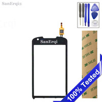 SanErqi For Samsung Galaxy Xcover 2 S7710 Touch Screen Digitizer Glass Lens