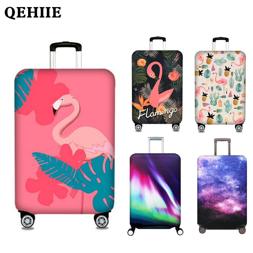Thicken travel luggage case cover Travel accessories Suitable for 18'' - 32''inch Elastic luggage dust cover luggage cover