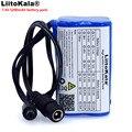 Защитный фонарь LiitoKala для велосипеда  7 4 В  5200 мА · ч  8 4 В  18650  литиевый аккумулятор  специальная Батарейная упаковка  5 5*2 1 мм
