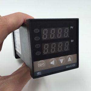 Image 3 - RKC Digital PID TEMPERATUURREGELAAR Thermostaat REX C100 + Max 40A SSR SSR 40DA Relais + K Thermokoppel M6 Probe Hoge Kwaliteit