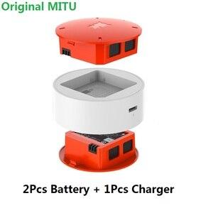 Image 1 - W magazynie dla MiTu 2 sztuk 920mAh baterii + ładowarka dla Xiaomi dron MiTu akcesoria do ładowania baterii 100% oryginalne części zamienne