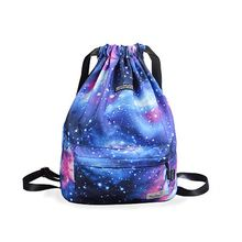 2019 New Cinch Sack Swimming Bag Floral Storage Drawstring Backpack Beach Travel Gym Bags