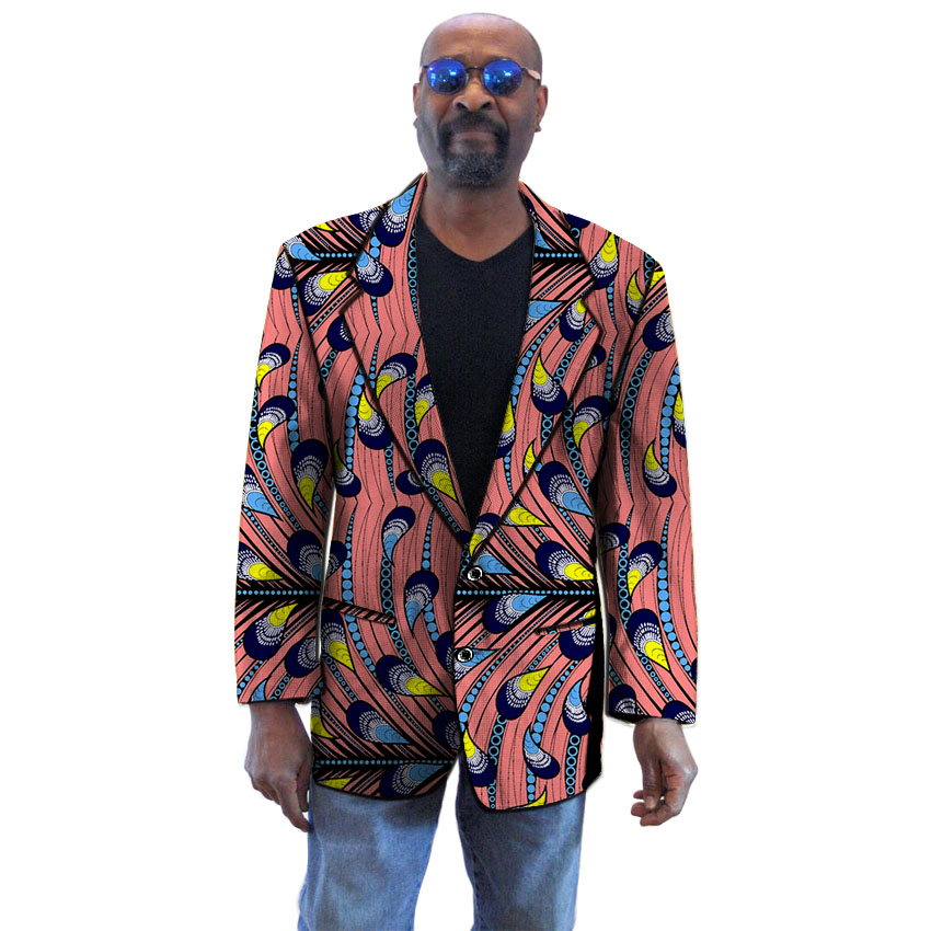 Casual African Clothes Printed Suit Jacket Africa Clothing Fashion Dashiki Robe Africaine Hip Hop African Dresses For Men