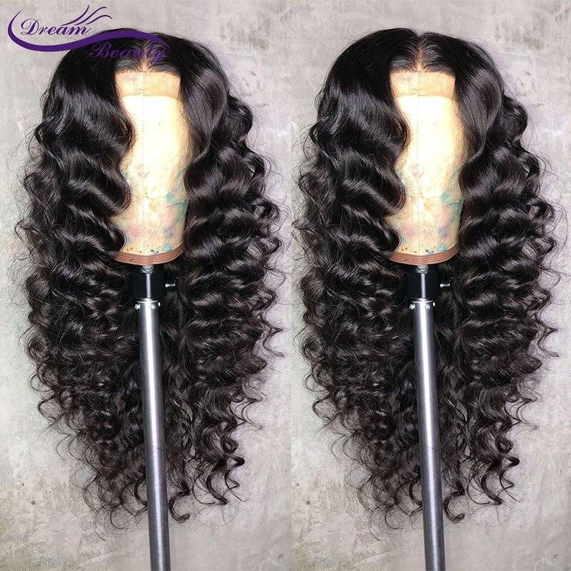 13x6 Синтетические волосы на кружеве человеческих волос парики с ребенком волос предварительно сорвал волосяного покрова Бразильский объем...