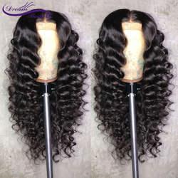 13x6 Синтетические волосы на кружеве человеческих волос парики с ребенком волос предварительно сорвал волосяного покрова Бразильский