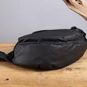 Image 5 - Mannen Waterdichte Nylon Sling Borst Terug Pack Hoge Kwaliteit Casual Messenger Schoudertas Man Cross Body Bag Fashion Rugzak Knapzak