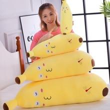 Chair Pillow Banana Yellow Cartoon Cushions For Sofa Kawaii Nordic Toys Soft Food Girl Gift Chinese Kids