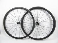 Farsports FSC38 CA 23 Powerway R36 hub 38mm 23mm Alloy brake carbon bike wheel, Aluminum braking surface carbon fiber road wheel