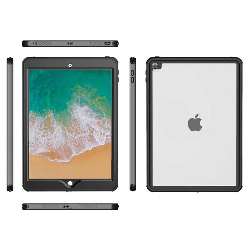 For iPad Pro 10 5 quot Waterproof Case Shockproof Dustproof with Built in Screen Full Body Rugged Protective Case for iPad Pro 10 5 quot in Tablets amp e Books Case from Computer amp Office