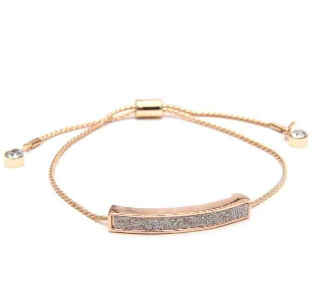 High Quality 3 colors crystal shining adjustable bracelet gold silver black open bangles fashion luxury jewelry forever lover