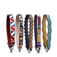 New Rivet Handbags Belts Chic Women Bags Strap Easy Matching Women Shoulder Strap Cow Leather Monster Bag Belts 002