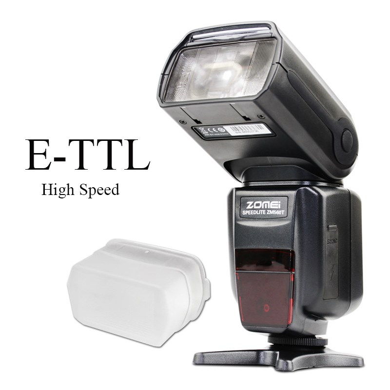 ZM560T Pro High Speed E-TTL Flash Flashlight Flashlite For Canon 5D Mark II III 6D 7D 70D 60D 750D 700D 600D 550D DSLR