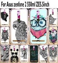 Soft TPU Phone Cases For Asus Zenfone2 ZE550ML Z00AD ZE551ML Zenfone 2 5 5 inch Black