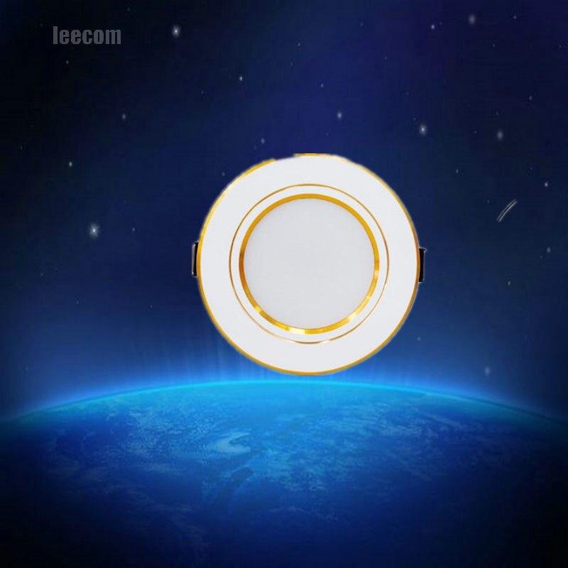 2017 ограниченное по времени предложение-Luces LED 10 шт./лот светодиодные светильники лампы 3-18 Вт потолочные встраиваемые светильники круглый Па...