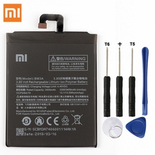 Xiao Mi Original Replacement Battery BM3A For Xiaomi Mi Note3 Note 3 Authentic Phone Battery 3400mAh все цены