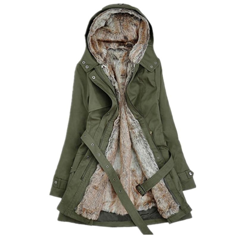 Kinikiss Casual Ladies Basic Coat Jaqueta Feminina Jacket Warm Long Sleeve Women Parkas Cotton Women Winter Jacket #3
