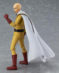 Image 4 - Anime One Punch Man Saitama Figma 310 PVC Action Figure Collectible Model Toys Birthday Gift 14cm
