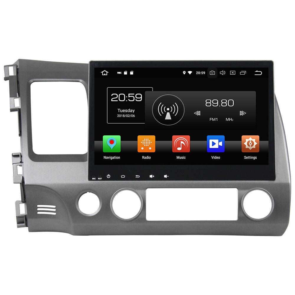 Android 8 0 Octa core 10 1 4GB RAM 32GB ROM HD GPS Navi Stereo Bluetooth