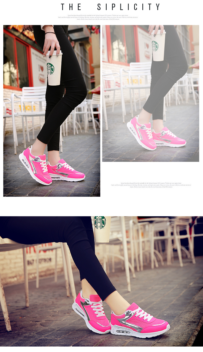 Air Mesh Women Casual Shoes Fashion Lace Up Shallow Shoes Woman Flat Heel Sport Trainers Size 35-40 Quality Walking Shoes ZD30 (17)