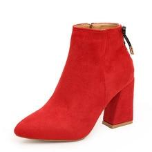 US $94.73 42% OFF|Handarbeit Aus Echtem Leder Rot Stiefel Männer Große Größe Casual Britischen Flügel Herbst Winter Schuhe Hohe Qualität Knöchel