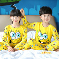 Venta caliente Niños Ropa Interior Pijamas Traje de La Muchacha ropa de Dormir Pantalones de Dibujos Animados Traje de Los Niños Del Otoño Del Resorte Ropa Niños Conjuntos de Pijamas