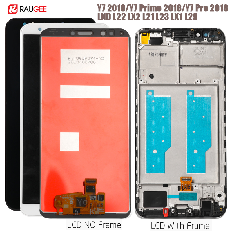 Display For Huawei Y7 2018 LCD Display Touch Screen For Huawei Y7 Pro 2018 Display Y7 Prime 2018 Screen LDN-L01,LX3,L21,LX2,TL10