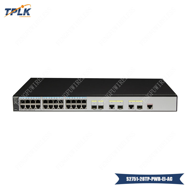 Impartial Hua Wei Hot New Original Switch Layer 2 Gigabit Switch S52751-28tp-pwr-ei-ac Ethernet Large Switching Capacity Router Cellphones & Telecommunications