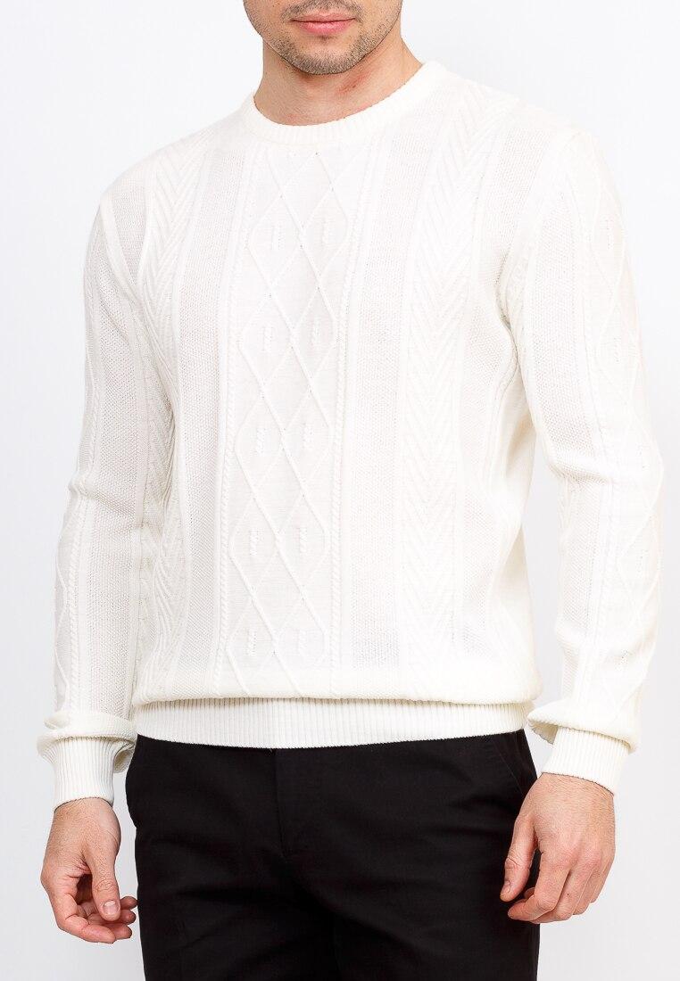 Cardigan male CASINO c121 pattern (white) White