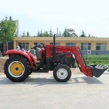 35HP трактор четыре колеса 4*4 с фронтальным вилочником многоцелевой сельскохозяйственной техники