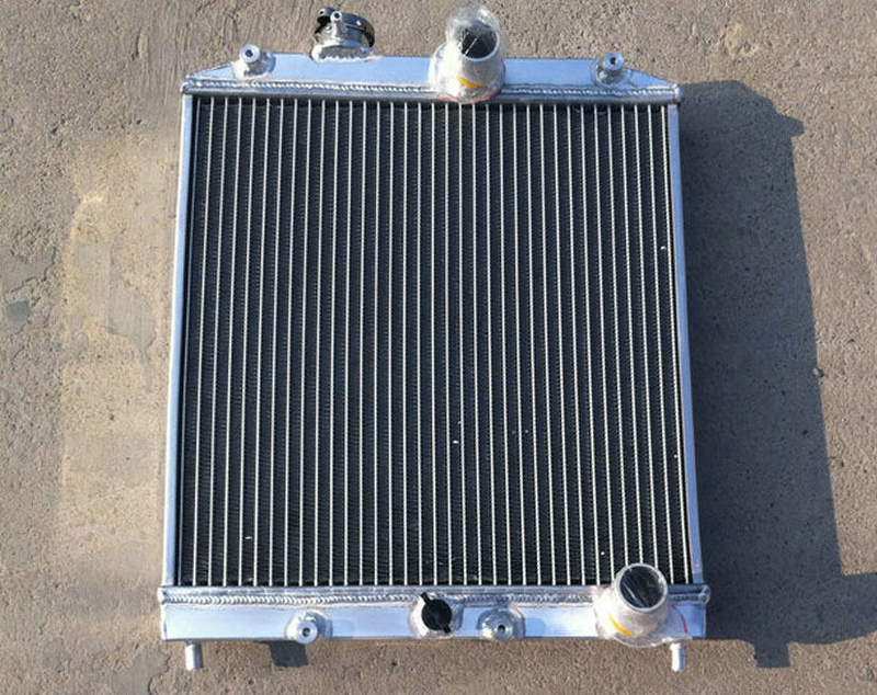 """12/"""" Fan 2 ROW 42MM Aluminum Radiator For HONDA CIVIC D15//D16 EG EK 1992-2000"""
