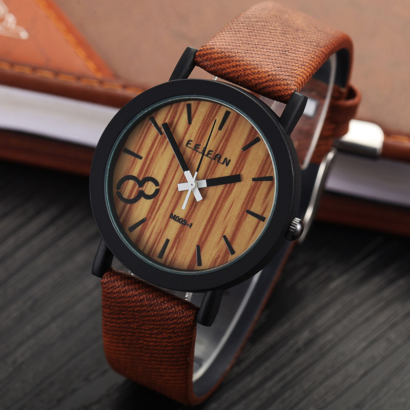 Wooden Wristwatch Clock Luxury Men New-Arrive Ultralight Fashion Analog Hot-Prestigio