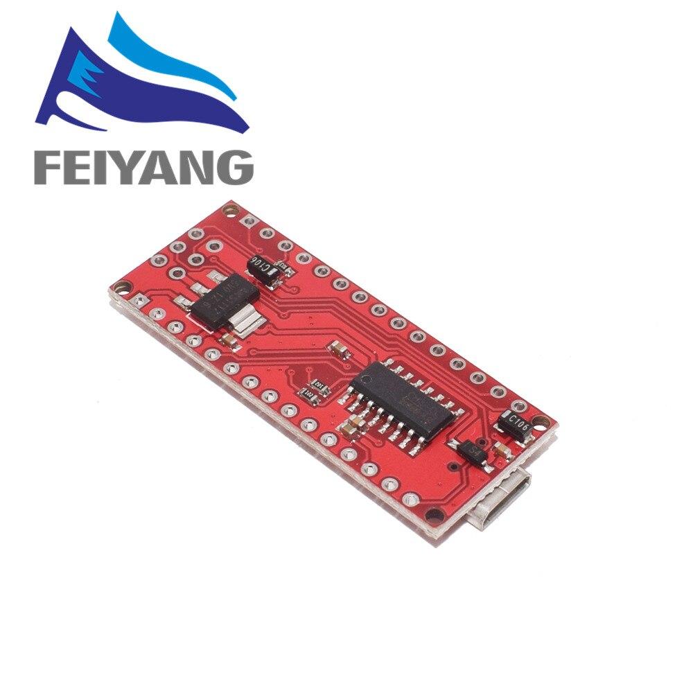 1PCS Mini USB With The Bootloader Nano 3.0 Controller Compatible For Arduino CH340 USB Driver 16Mhz NANO V3.0 Atmega328P/168P