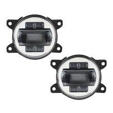 Светодиодный противотуманный светильник Plug in Play для Ford Explorer 2011 2013 Ford Transit 2000~ 2013 Jeep Freedom Honda CR-V Mitsubishi
