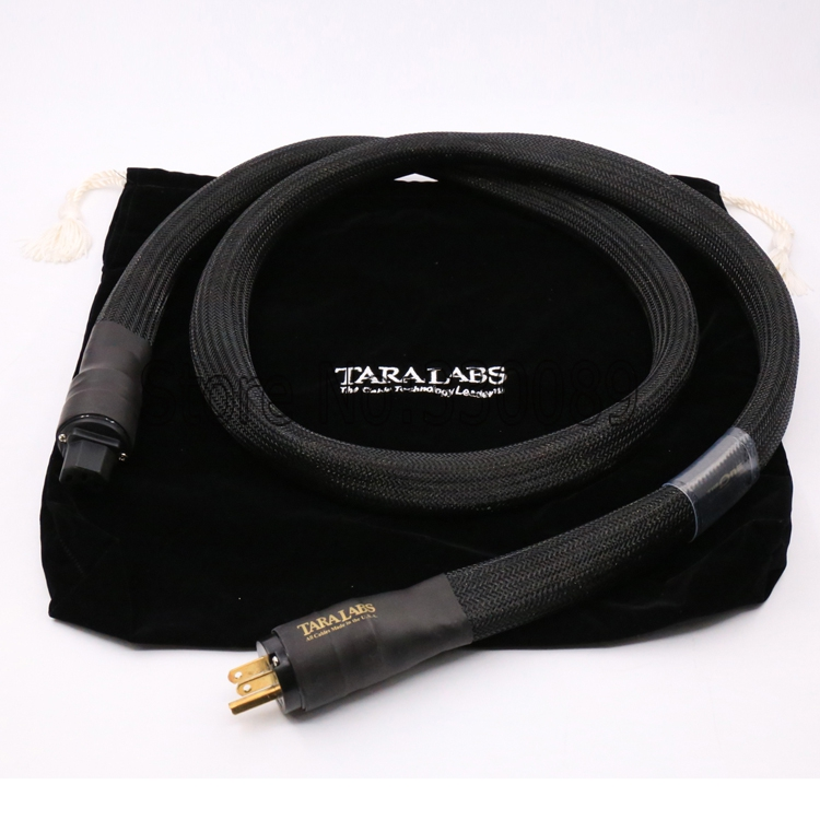 Free shipping 1.8m TARA LABS The One AC Power Cable Audiophile Power Cord line for amp free shipping evolution power ii us ac ac power extension cord cable audio power cable for tube amp audiophile