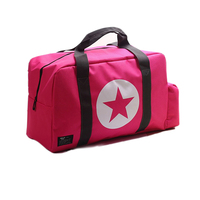 High Capacity Travel Duffel Trendy Gym Bag For Teen Outdoor Training Shoulder Bag Durable Hiking Holdall