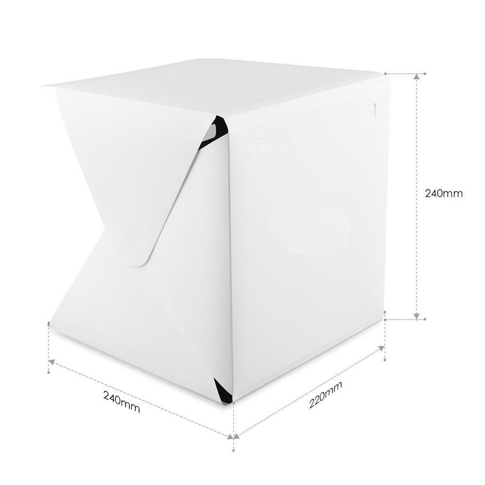 YIXIANG Portativ Qatı Qatlanan Lightbox Fotoqrafiya Studiyası - Kamera və foto - Fotoqrafiya 5