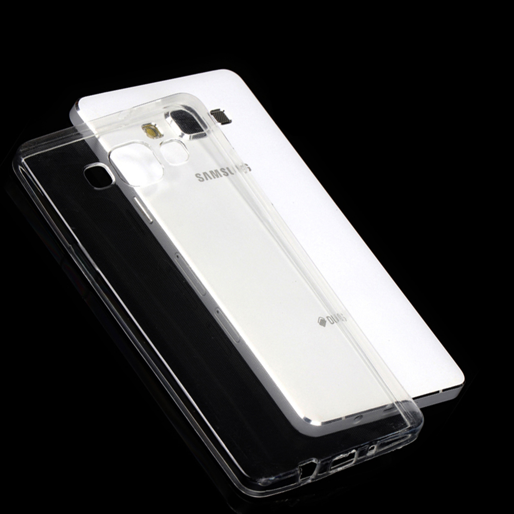 Case For Galaxy A3 A5 A7 A8 A9 A9S On5 On7 Core2 Grand I9082 Prime Plus Star 2016 <font><b>2017</b></font> 2018 Cover TPU Silicon Clear image