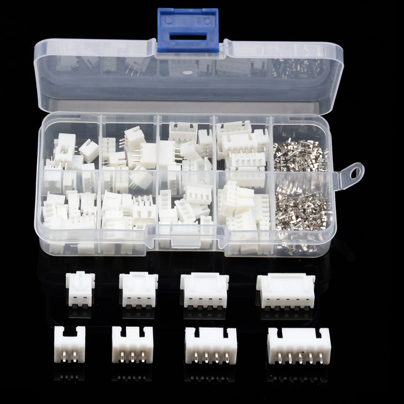230PCS 2/3/4/5Pin XHPX 2.54mm Dupont Butt Electrical Wire Connector Jumper Pin Housing Header Male/Female Crimp Terminal Kit 250pcs box 2 54mm 1 2 3 4 5 pin dupont electrical wire cable jumper connectors male female pin header housing crimp terminal kit