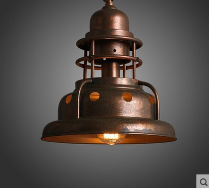 Edison American Retro Loft Vintage Industrial Lighting Pendant Light Fixtures Brass Lampsade,Lamparas  De Teto Techo Colgantes