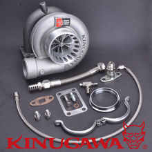 Kinugawa Turbocharger 4 Anti-surge TE06H Billet T04R with T3 12 cm Twin scroll / V-band External Gate Housing Monster