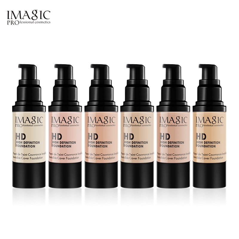 IMAGIC Brand Face Foundation Makeup Base Liquid Foundation Cream Concealer Whitening Moisturizer highlight Foundation cosmetics foundation футболка foundation all grove grain brown