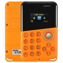 2017 оригинал новый AIEK M8 Мини Сотовые телефоны кредитной карты, телефон BT quad Дети Студенты MP3 celulares подарки для детей Mobile телефон