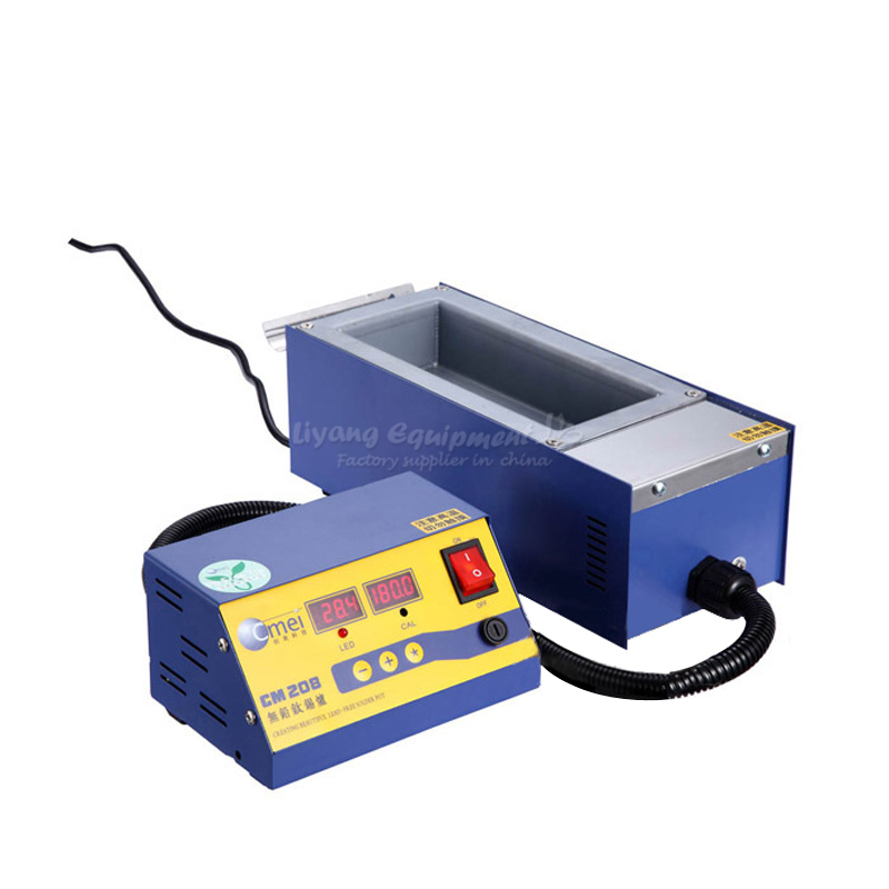 split type no lead small pot Melting tin furnace soldering tool stepless adjustable temperature stove